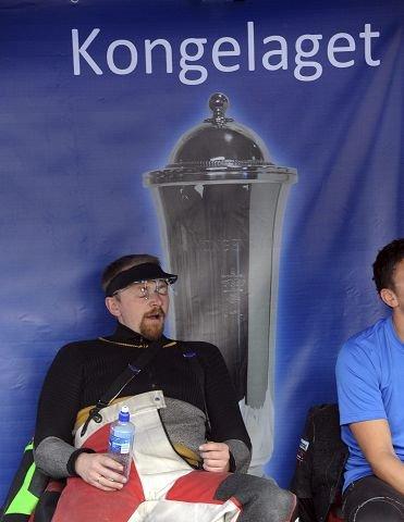 Hans Kristian Wear venter på å få slippe til på standplass.