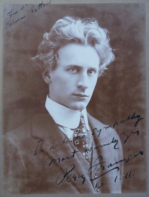Percy Grainger var en av de store rockestjernene i 1911.