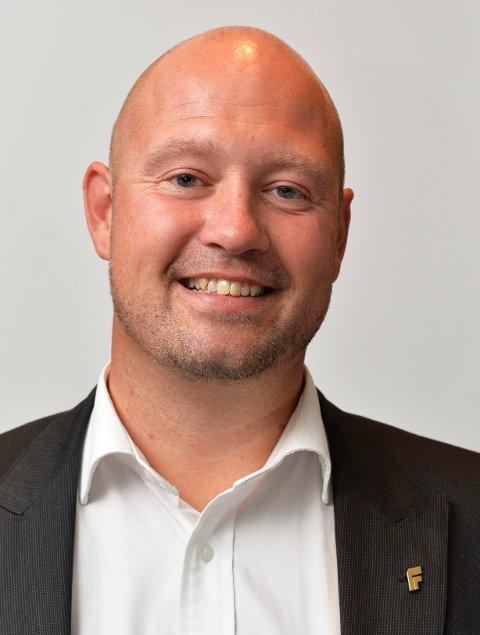 Anders Anundsen (Frp) har igjen sikret en plass på Vestfold-benken.