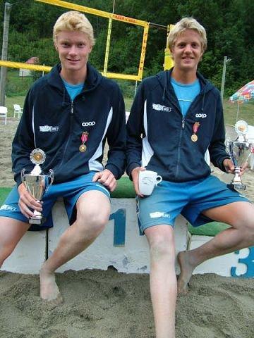 STILLER: Yngve Antonsen og Stian Sagstad skal konkurrere i Conoco Philips Open på Sofiemyr.