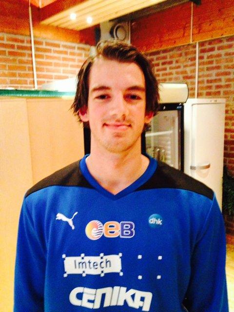 Øyvind Frigstad kommer fra Kristiansand i 2. divisjon til DHK i eliteserien.