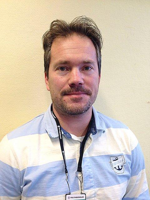 POLITIOVERBETJENT: Rolf Arne Sætre i Kripos