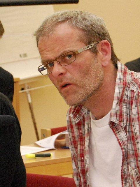 Positiv: Jon Sannes Andersen i Arbeiderpartiet, Nøtterøy.  Foto: Ralf Haga