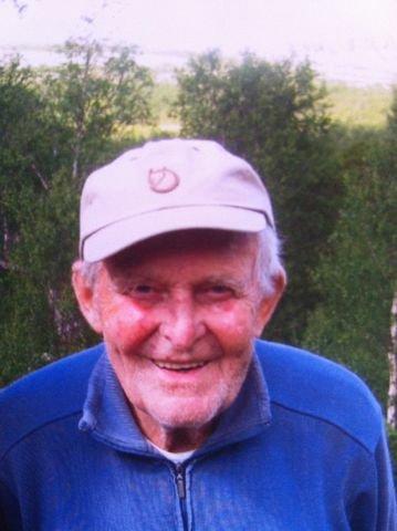 FUNNET: Bjarne Johansen (86) ble funnet i live etter to døgn i skogen. FOTO: POLITIET