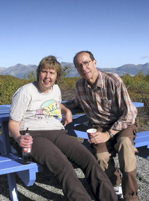 PÅ TUR: Ylvingen ble en stor opplevelse. September 2010.