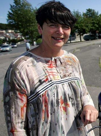 Skuffet Irene Johansen (Ap) er skuffet over at samferdselsministeren ikke har noen løsning på trafikkproblemene i Moss.