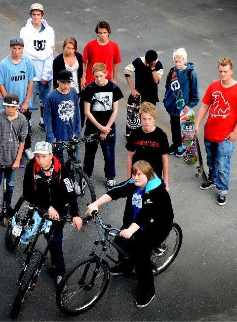 Ungdommen som håpet at skaterampen på Loesmoen skulle oppgrades, ble ikke hørt.