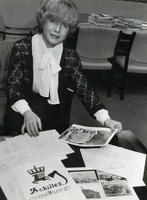 Mona Røkke var justisminister fra 1983 til 1985.