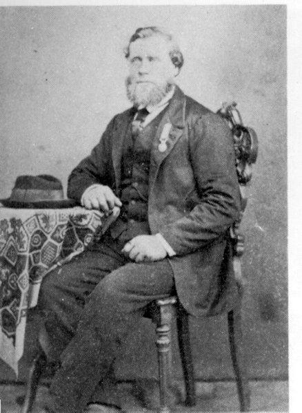 Slik så Johan O. Olsen ut i xxx. Fotografiet er utlånt av familien.