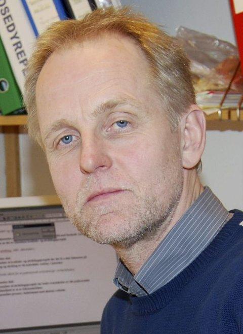 BEKYMRET: Barnevernleder Petter Andersen er svært bekymret over utviklingen. Foto: Ralf Haga