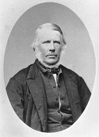 Mønsterbruk: Halvor Tveter (1807-1875) Bilde fra Østensjø lokalhistoriske bilder.