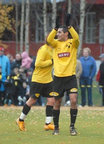 GODT HÅP. Farra Nemati og nye Drammen Fotballklubb blir ikke skremt av motstanderne de har kommet i gruppe med i 2. divisjon.  FOTO: PER ABRAHAM GRENNÆS