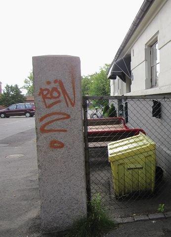 inngangsparti Tagging er det første man blir møtt av når man går inn porten til Allaktivitetshuset. foto mette eriksen