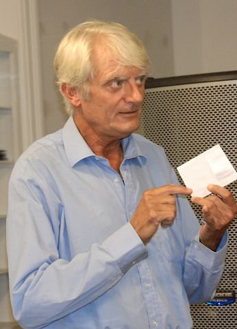 Ernst Rolf ledet debatten