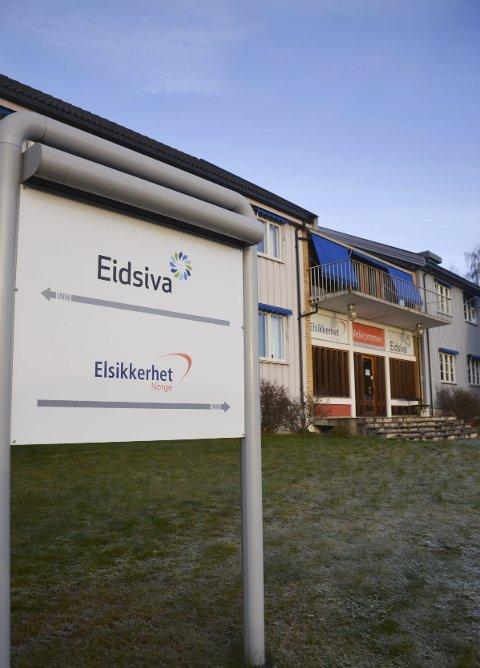 Flytter ut: Eidsiva Anlegg flytter ut fra disse lokalene i Tandevegen og flytter til Nydal.
