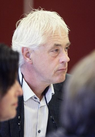 <b>SMÅTRIKSING?</b> Øyvind Haraldseid (H) tok det påfallande valresultatet frå Vikebygd opp då Vindafjord kommunestyre konstituerte seg i går.