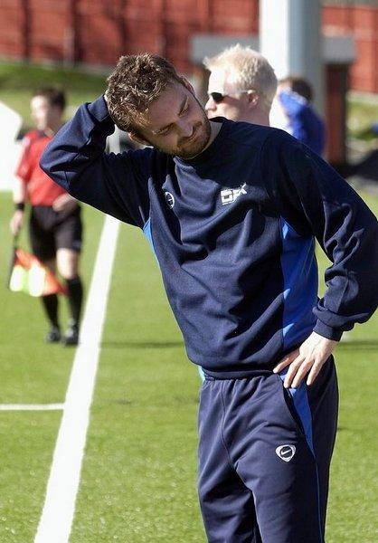 DFK-trener Håkon Grøttland.