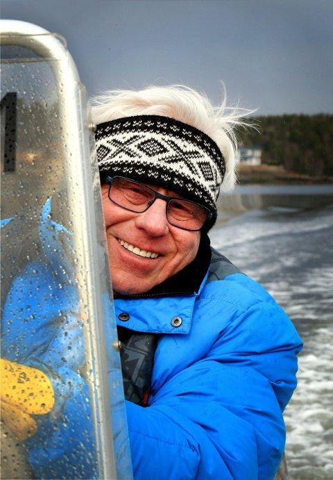 FULL FART FOROVER: For arbeidsnarkomane Tomm Murstads går livet fortsatt i hundre, dag og natt.