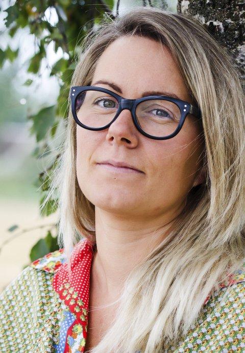 Ærlig: Helene Guåker turde å fortelle om egne vansker å sette ord på tabuer.