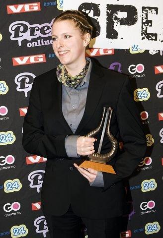 Susanne Sundfør gir denne uken ut «Take One», enkle, nedstrippede versjoner av sangene fra debuten. Her fra Spellemannprisen.