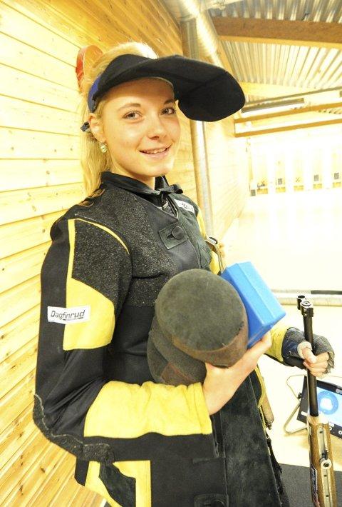 Katrine Aannestad Lund sikret seg to NM-gull.