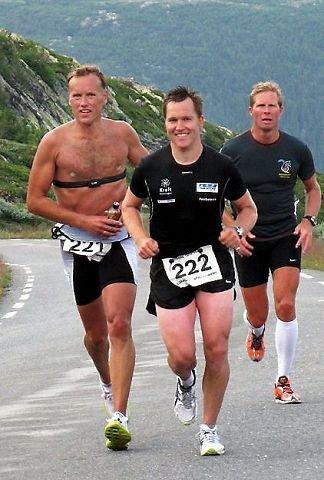 Christian Bøhmer og Ivar Jørgensen begynner å bli erfrane Norsemen, Arkivfoto fra 2010.