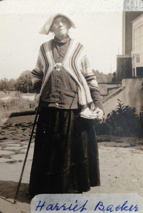 KUNSTNEREN: Harriet Backer under et opphold på Nordgård pensjonat i Asker.