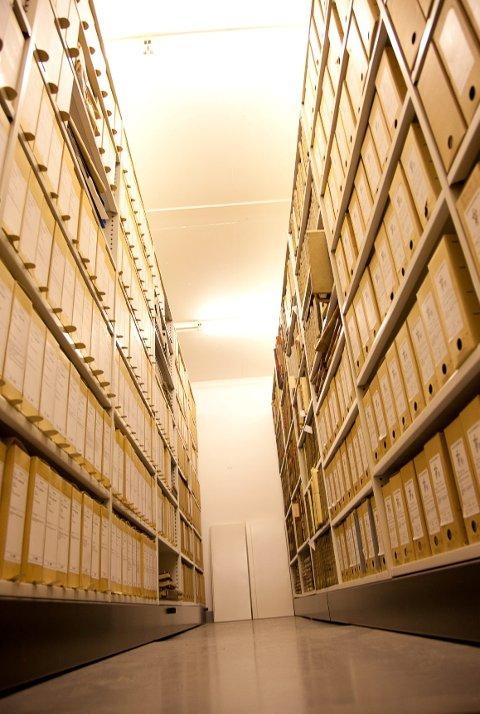 25 tonn og 500 meter med dokumenter befinner seg nå i lokalene til Riksarkivet i Oslo.