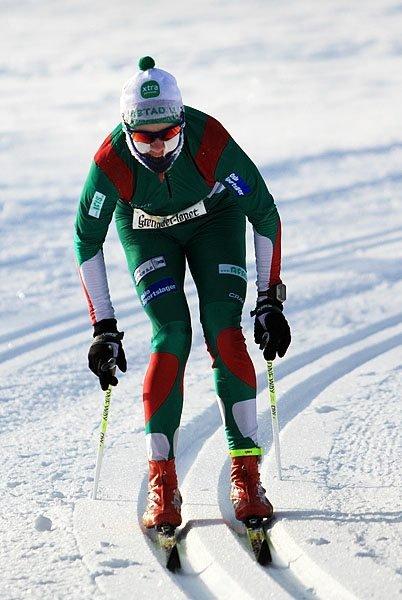 VM-GULL: Carl Fredrik Hagen fra Oppegård tok VM-gull i vintertriathlon i U23. FOTO: ARKIV