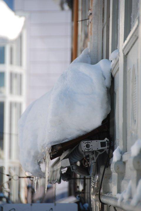 De potensielle snøfellene i Moss er mange om dagen. En skikkelig kalddusj trenger ikke være langt unna.