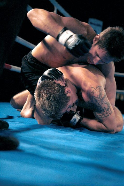 Simeon Thoresen ble historisk da han som første nordmann vant en MMA-kamp i gigantforbundet UFC. ARKIVFOTO: SIMEN KJELLIN