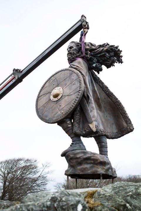 Harald Hårfagre i vinden.