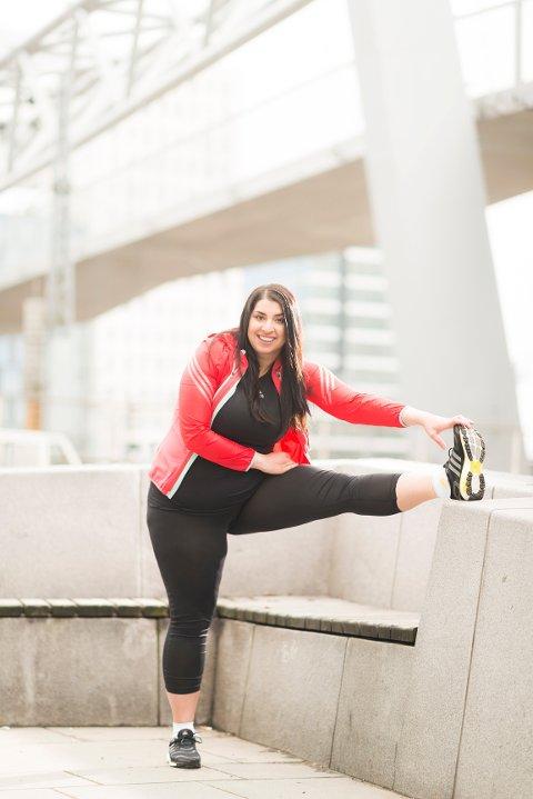 AMBASSADØR: Elverumsjenta Nastaran Marie Kowkabi er en av ti norske jenter som fronter den nye løpekampanjen til Adidas.