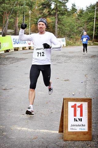 Knut Eraker Hole vant Fredrikstad Maraton.