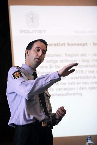 MOTSTANDER: Politimester Kaare Songstad.