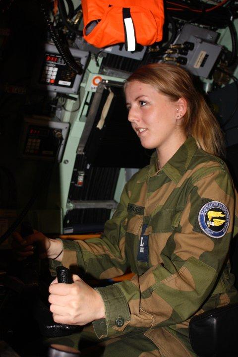 Marie Brudevold deltok forrige uke på en tre-dagers ubåt-tur