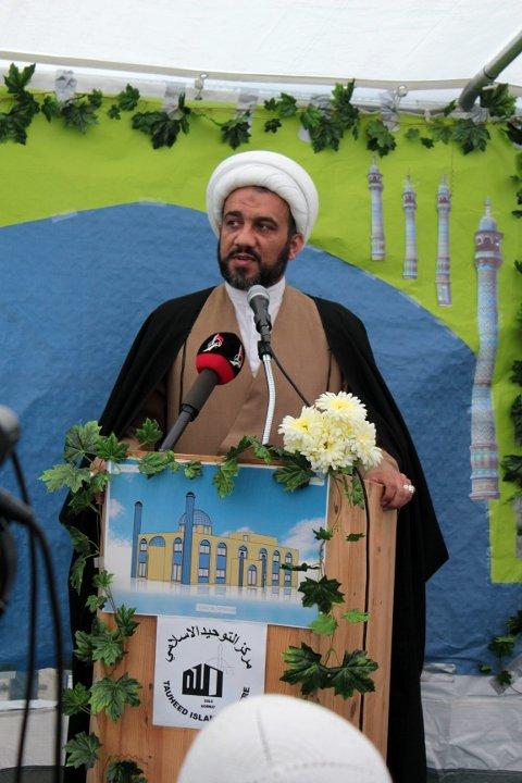 UNG IMAM: Sheikh Mahmoud er den imamen som jobber mest med ungdommen i organisasjonen.