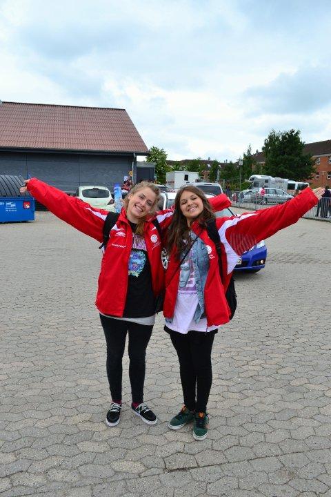 TIL VM: Line Wallin (til venstre) og Denice Miriam Solberg skal delta i verdensmesterskapet i hip hop.