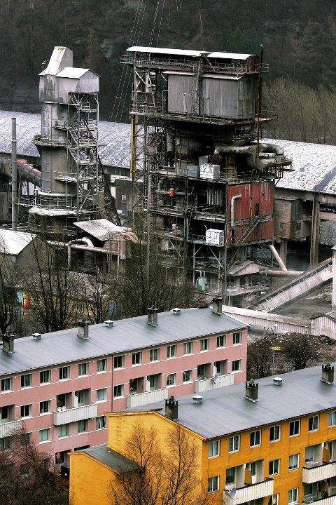 SISTE JUL: De omstridte kalkovnene i Odda sentrum går trolig inn i sin siste jul. ARKIVFOTO: KAI-INGE MELKERAAEN