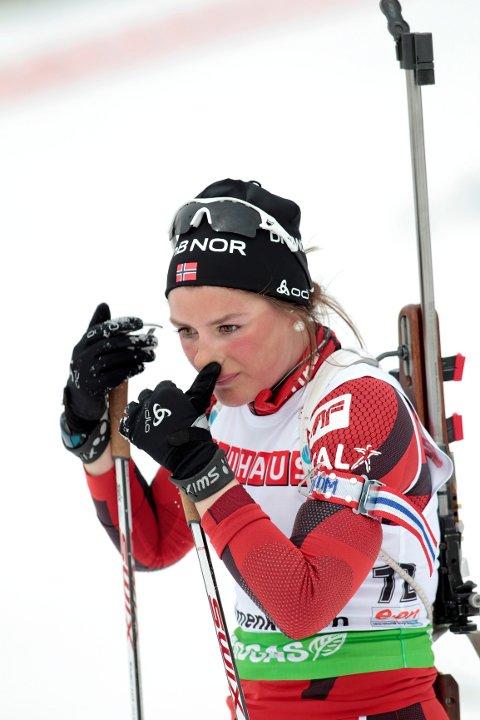 Det ble fjerdeplass på Bente Landheim på sprinten i Idre.