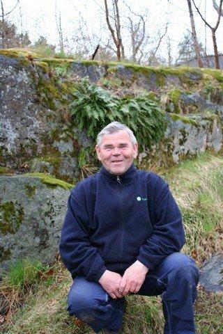 Vidar Gunnersen har registrert sommerfugler i 25 år.