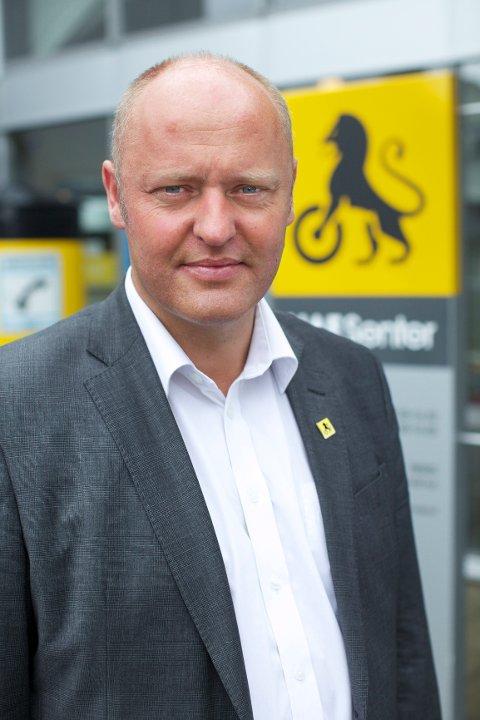 Stig Skjøstad i NAF er skuffet over at miljøperspektivet i bilavgiftene forsvinner fra statsbudsjettet.