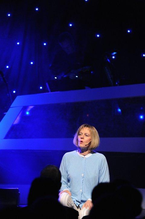 Den beste sangprestasjonen kom da Anne-Line Sandnes entret scenen.