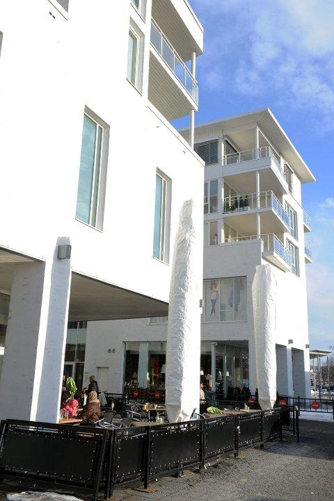 Boligsameiet Hvaltorvet har søkt bygningsmyndighetene om vinskjerming av uteplasser og balkonger på grunn av mye vind.