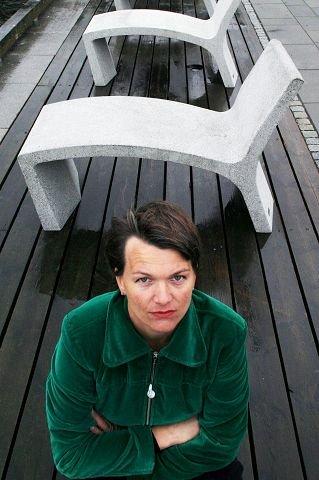 Helena von Bergen stiller ut på Galleri Øks. Arkivfoto: John Johansen