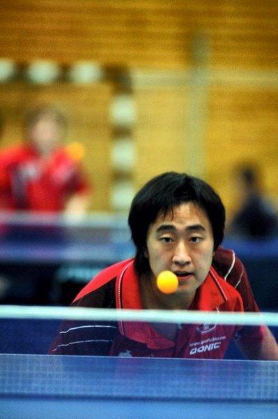 Wang Bing vant begge sine kamper for Modum.