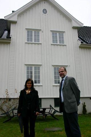 SPENT: Seniorrådgiver Atle Haugdahl hos Estate Floberghagen Eiendom vet ennå ikke hvordan det blir å selge eneboligtomter på Bøleråsen. For to år siden gikk det strykende.