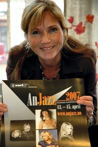 GLEDER SEG: AnJazz, eller Hamar Jazzfestival, arrangeres i år for tredje gang, stadig under ledelse av Anja Katrine Tomter. $BYLINE_ON$Foto: Merete N. Netteland $BYLINE_OFF$