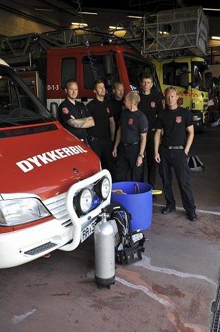 Fra venstre: Simon Kildal, Martin Winther, Even Grindvollen, Trond Rasch, Henning Hushovd og Morten Lislerud.