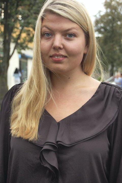 DEN NYE GENERASJON: Hun er ung og hun er kvinne. Ida Elisabeth Krogstad skal representere Høyre i kommunestyret de neste fire årene. FOTO: SOLVEIG WESSEL
